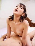 Tomoka Sakurai Asian has labia spread and beaver filled with cock