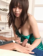 Nozomi Hatsuki Asian with round boobies is pumped in tight pussy