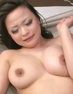 Yuu Haruka Asian gets dildo in asshole and fingers in wet peach