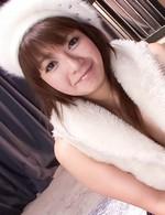 Kurara Iijima Asian is fingered in hairy beaver while sucks dong
