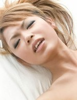 Chihiro Kobayashi Asian gets vibrator on clit and cock doggy way