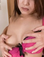 SAYA Asian is fingered before is nailed by dong she sucked well