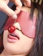 Haruka Uchiyama Asian with push ups has hairy twat under vibrator