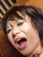 現役女子大生内山遥ちゃんを目隠し拘束プレイ。クンニから、指マン&電マ責めで喘ぎまくる遥ちゃんに濃いザーメンぶっかけ!