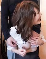 Emiri Mizusawa Asian with big knockers has hairy nooky screwed