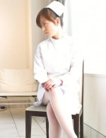 Japanese nurse Miina Minamoto masturbates in a patients room