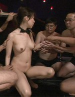 Succulant Japanese cutie Kotone Aisaki used by two guys