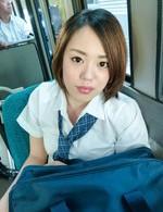 Yuna Satsuki Asian with hot cans is doggy nailed while sucks dong