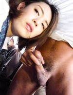 Yuna Satsuki Asian sucks strangers boners and has cans touched