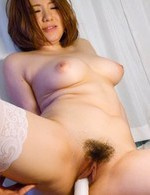 Alice Ozawa Asian gets more and more pleasure from vibrators