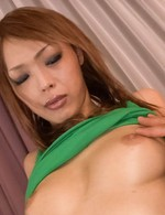Rina Asian with firm assets has hard penis fucking her love box
