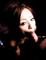 Suzuka Ishikawa Asian has cum pouring from mouth after sucking