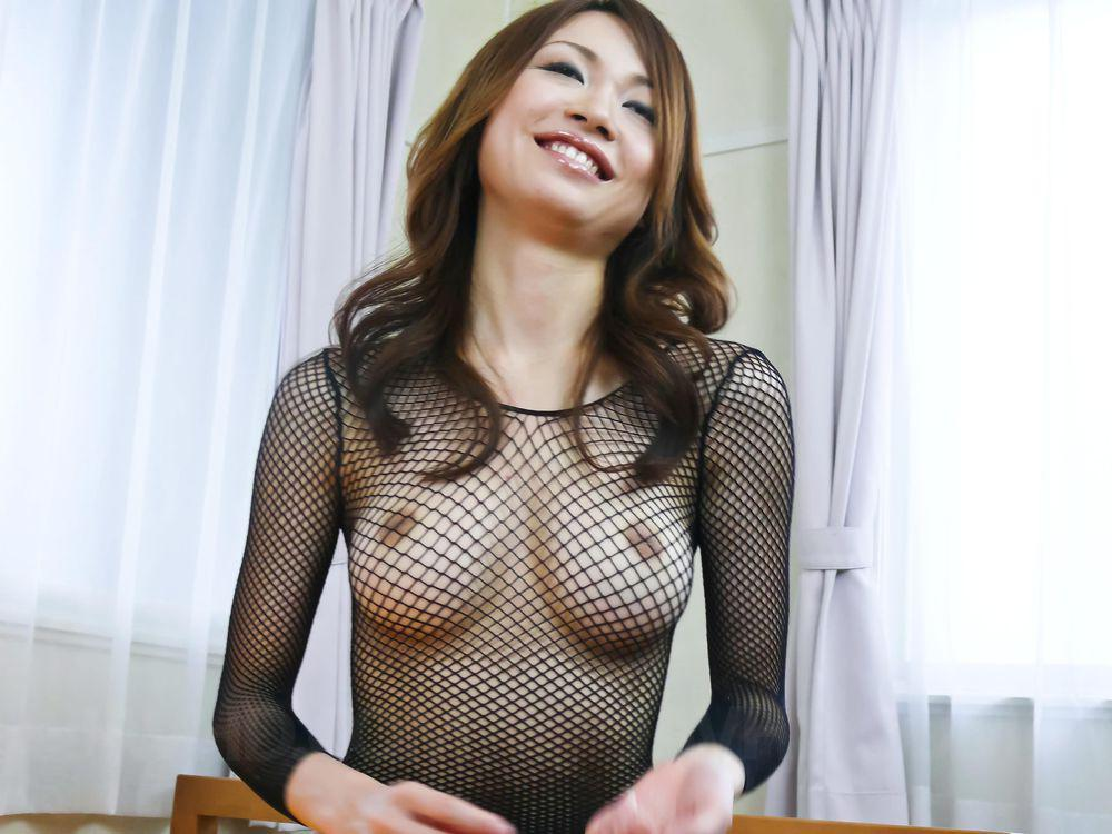 Sara seori and her perfect titties used by three horny guys 8