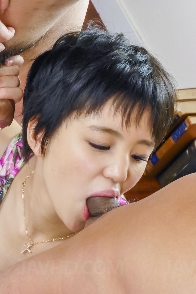 Sakura aida uses her tight holes to devour