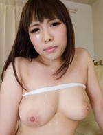 Yuri Sato Asian sucks tools and rubs her hot assets with them