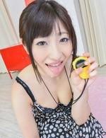 Arisa Nakano shows mouth full of cum after swallowing shlong