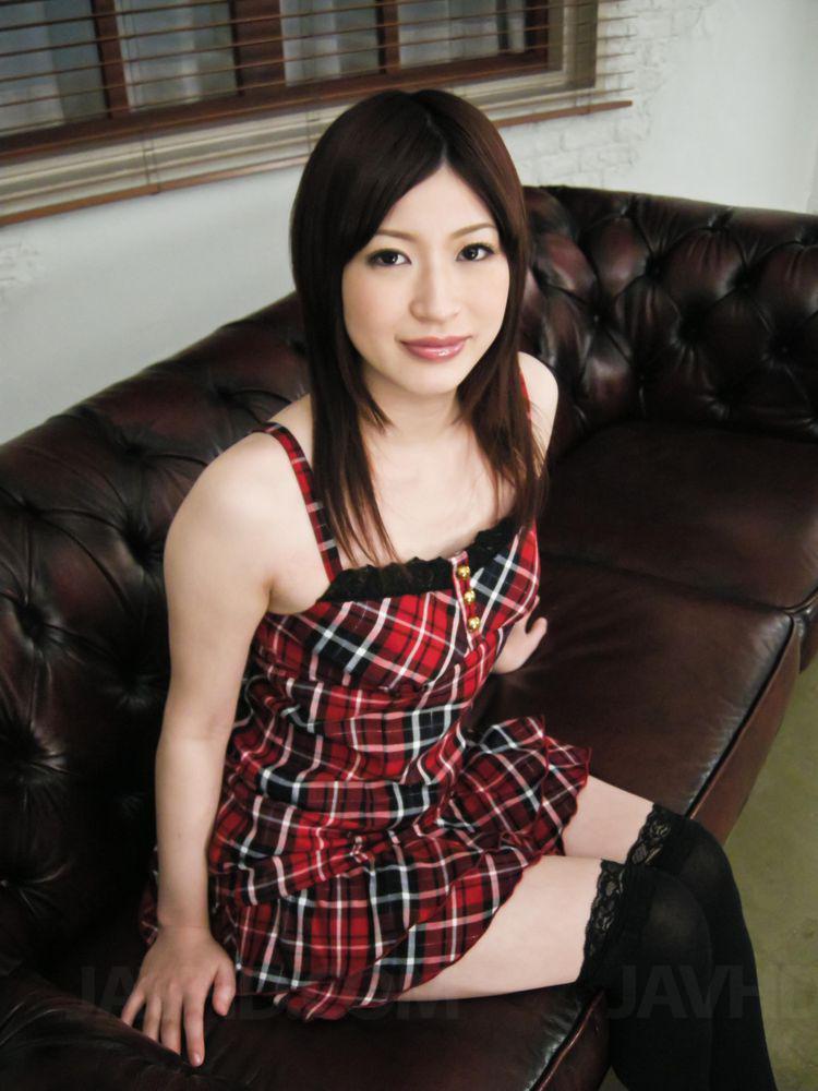 Riko oshima amateur babe finger fucks in strong solo 8