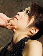 Maki Hojo Asian sucks dick with skilled lips and gets cum in end