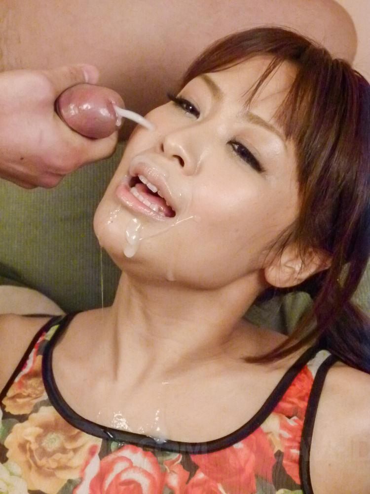 face cum Asian girl