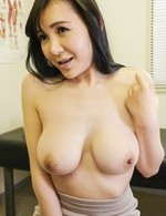 Miu Watanabe Asian has big assets and beaver explored by doc