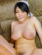Rie Tachikawa rides cock with fingered slit and shakes big boobs