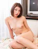 Kaoru Asian with nasty bee stings sucks cock with much passion