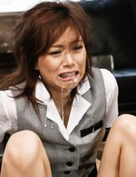 Keito Miyazawa Asian with legs and hands tied gets dicks in mouth