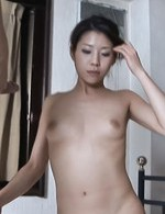 Mizuki Ogawa Asian with specs sucks boner and collects sperm