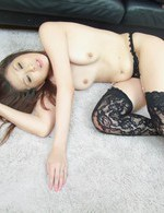 Nanako Yoshioka giving a nice blow job and double penetrated