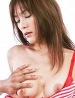 Nagisa Aiba Asian has hairy poonanie teased a lot with vibrator