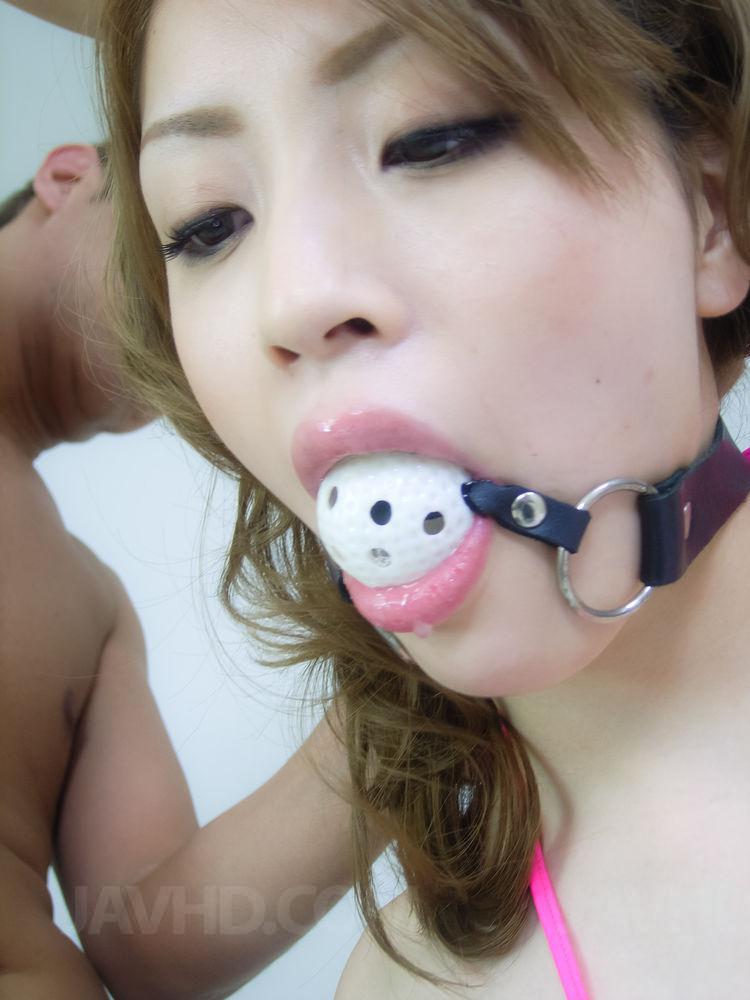 Cute curvy asian enjoys two bbcs 2