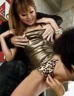 Kokoa Ayane Asian sucks phallus and is screwed big time in orgy