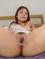 Anri Sonozaki sucks boner and has twat rubbed before is frigged