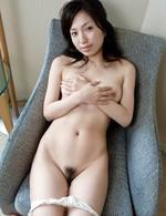 Nana Kurosaki Asian has hairy lower lips deeply screwed by hunk