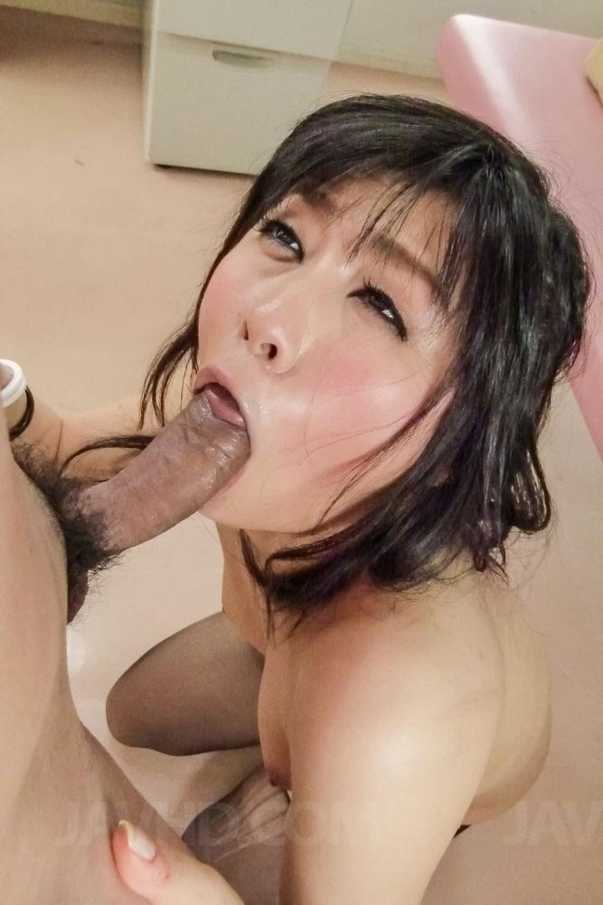 Sexy akina hara blowjob in cute uniform 1