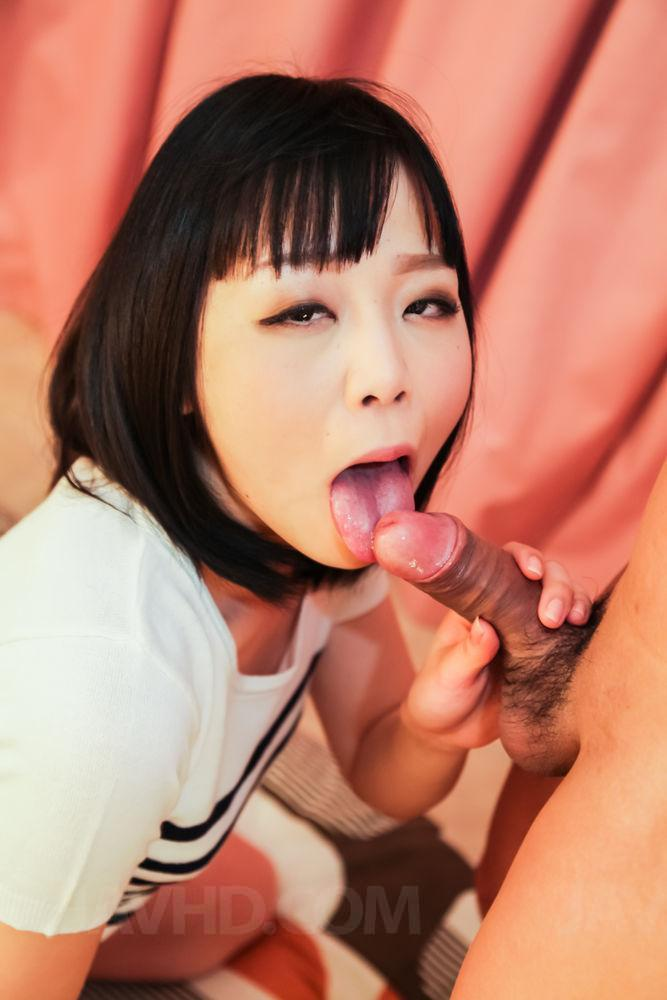 Ayaka fujikita loves the dick slamming her so hard more at 6