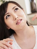 Chiemi Yada has red pussy aroused with vibrator and gets cum