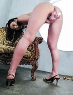 Sera Ichijo Asian sucks cock while fucking herself with sex toys
