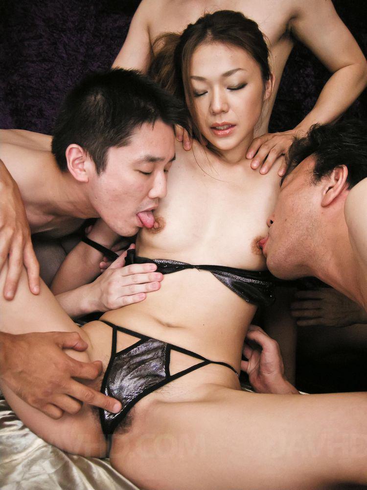 Japan orgy porn video - 1 4