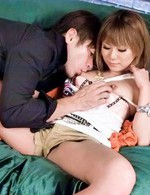 Kokoa Ayane Asian gets fingers and sucked boner in her poonanie