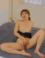 Koda Riri Asian sucks and rubs dicks before is nailed like crazy