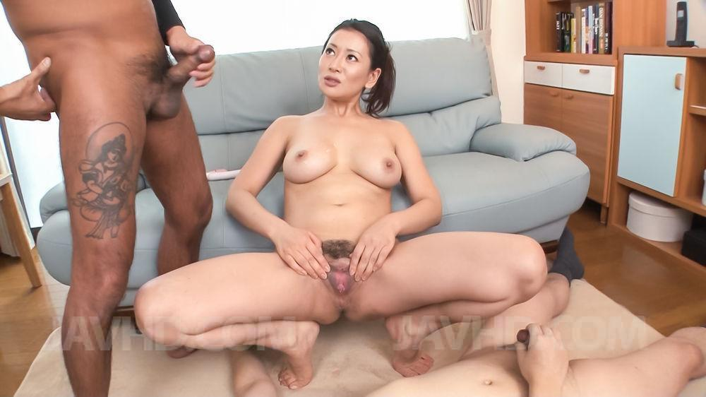 Busty japanese angel gives a massage 6