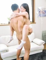 Sanae Akino Asian with big nipples has crack filled with boner