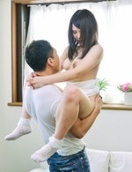 Sanae Akino Asian gets woody in crack in acrobatic positions