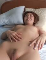 Mao Hosaka Asian puts vibrators on clit and licks and sucks penis