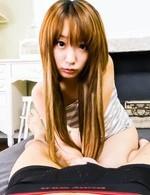 キュートなアヒル口が魅力のEカップ美巨乳杏樹紗奈ちゃんが登場!フェラチオプレイでザーメンをお口でキャッチ!