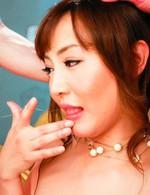 超美形アイドル級AV女優麻倉まみちゃんがセクシードレスで登場。バック、正常位、そして騎乗位でハメまくられて、イキまくる!
