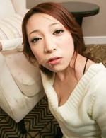Kanako Tsuchiyo the glam AV babe gives head and begs for a load