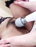 Nozomi Kahara Asian sucks cock and gets vibrator before bonking