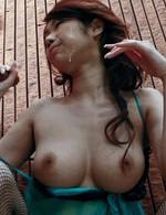 Fカップ爆乳高橋風花ちゃんが豪快なWフェラでバキュームで吸い上げます。濃いザーメンをお顔と爆乳でキャッチしてくれます!